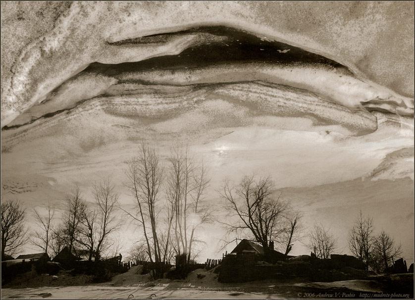 """фото """"ОТКРЫТЫЕ НЕБЕСА: Добро Пожаловать или Посторонним Вход Воспрещён"""" метки: абстракция, пейзаж, ночь"""