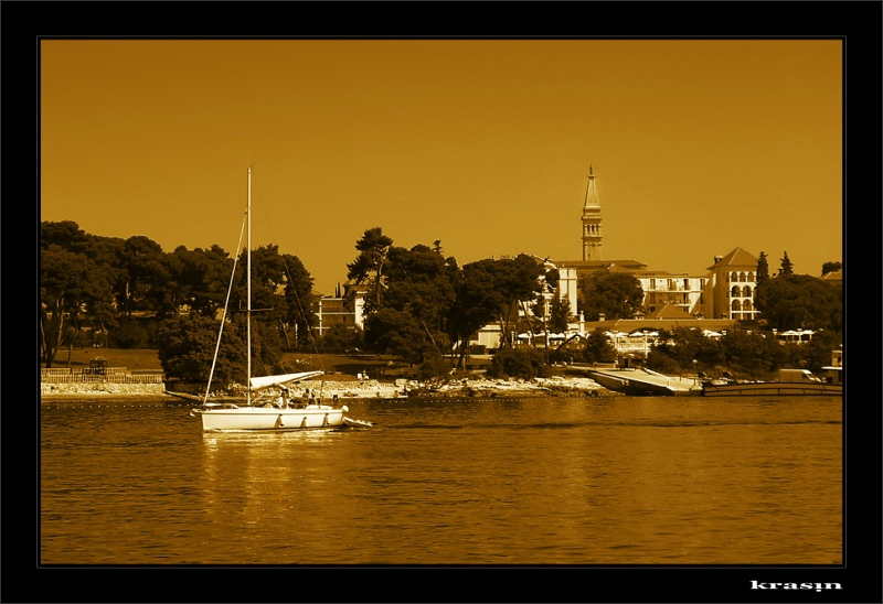 "photo ""Gold sea"" tags: landscape, summer, water"