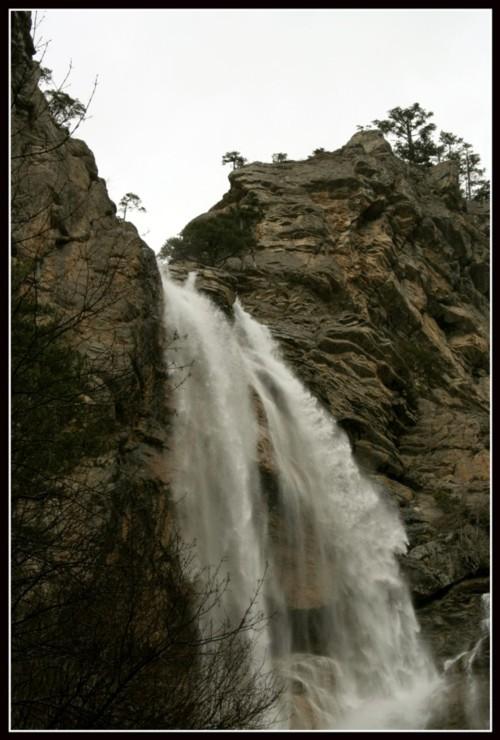 "фото ""Учан-Су"" метки: пейзаж, вода, горы"