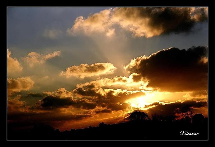"фото ""Закат-2"" метки: пейзаж, закат"