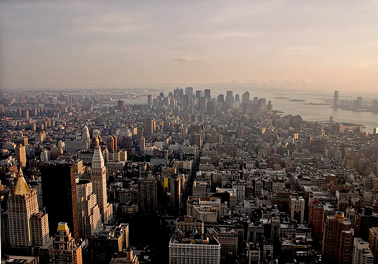 "photo ""Good Evening -'New York'"" tags: architecture, landscape,"