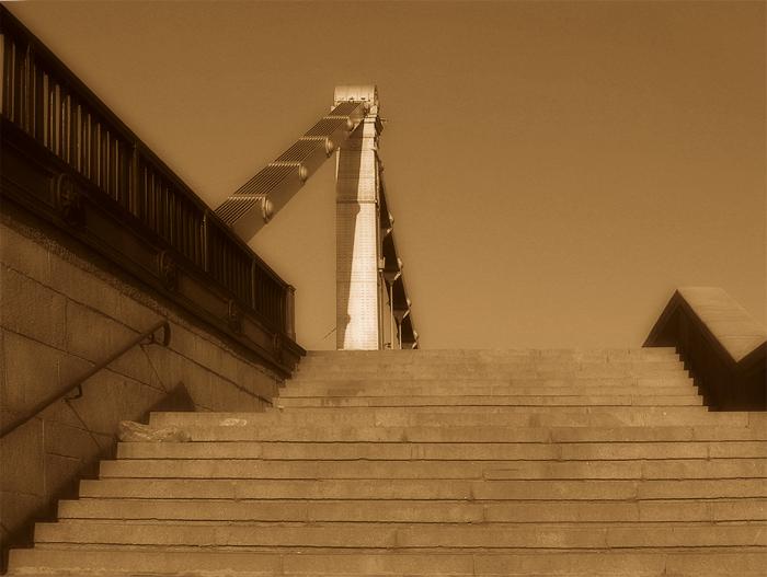"photo ""manifestation"" tags: architecture, black&white, landscape,"