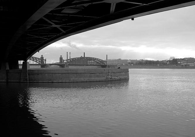 """фото """"Мост.Набережная.Мост..."""" метки: ,"""
