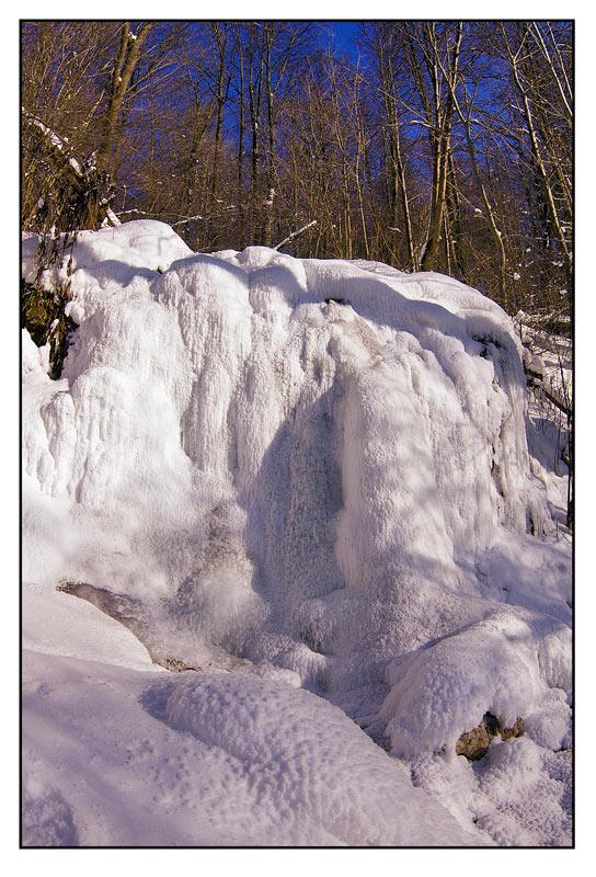 """фото """"Зимний водопад"""" метки: пейзаж, зима"""