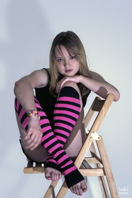 "photo ""sock №1"" tags: portrait, glamour, woman"