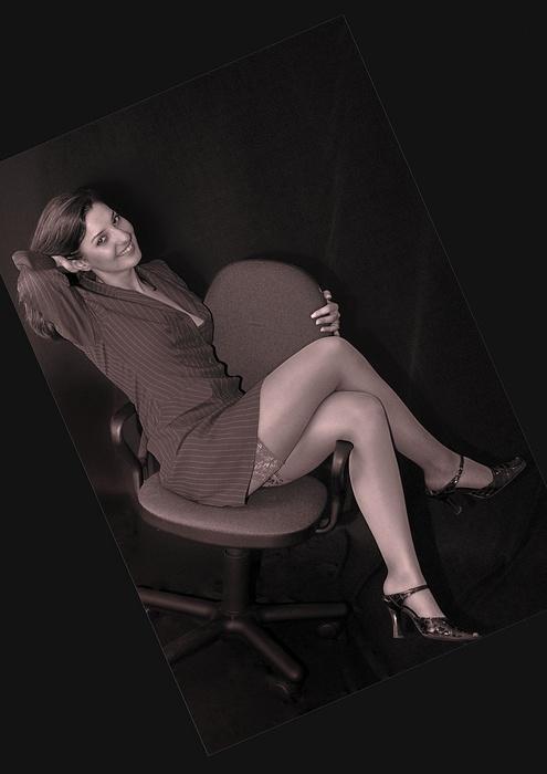 """фото """"Стульчик..."""" метки: гламур, портрет, женщина"""