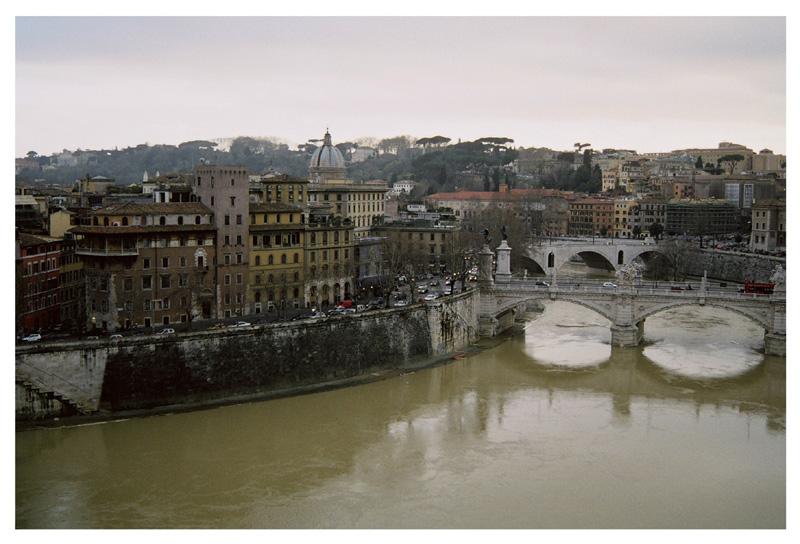 """photo """"I pini del Gianicolo"""" tags: architecture, travel, landscape, Europe"""