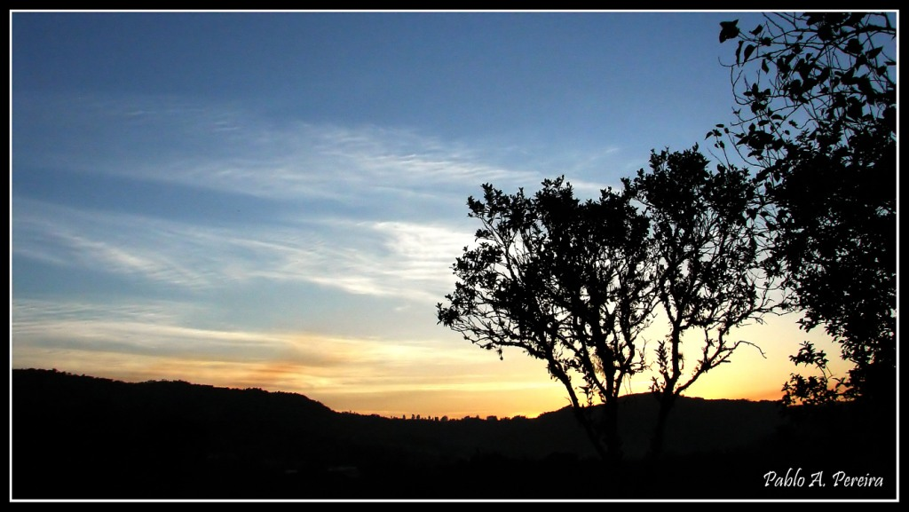 """фото """"Ocaso"""" метки: пейзаж, закат"""