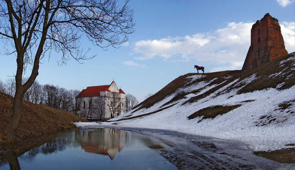 "photo ""Spring in Novogrudok"" tags: panoramic, architecture, landscape,"