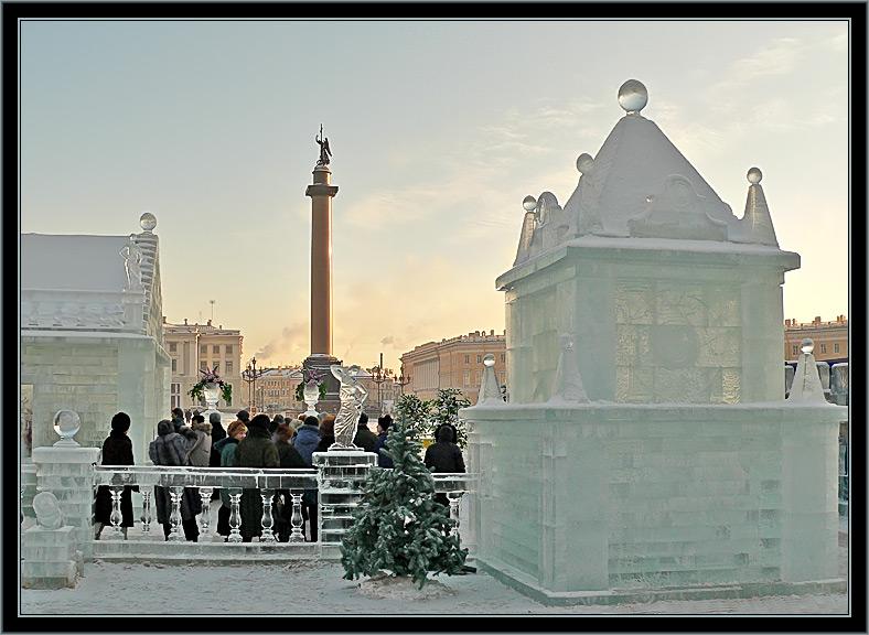 """фото """"Ледяной дом. Фрагменты."""" метки: архитектура, пейзаж,"""
