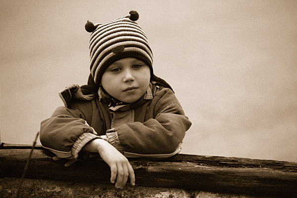"""фото """"Мечтатель"""" метки: портрет, дети"""