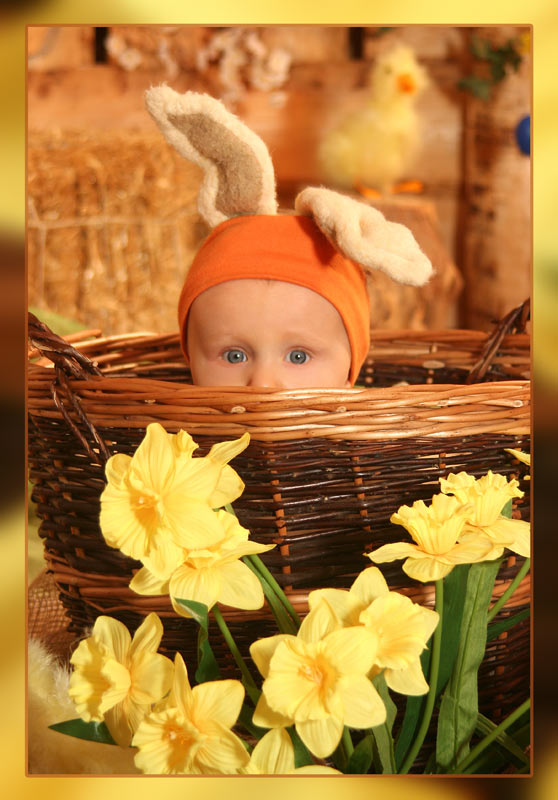 "photo ""HAPPY EASTERN TO ALL"" tags: portrait, children"