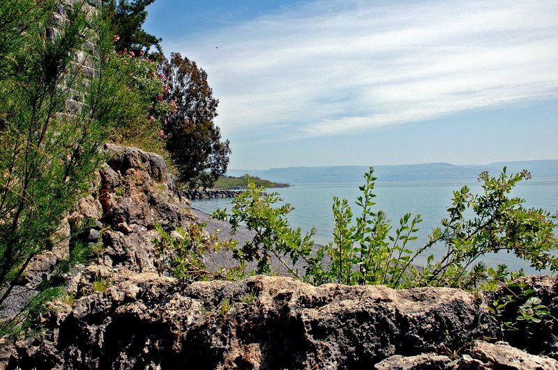 "photo ""Stones of the Lake Kineret"" tags: landscape, travel,"