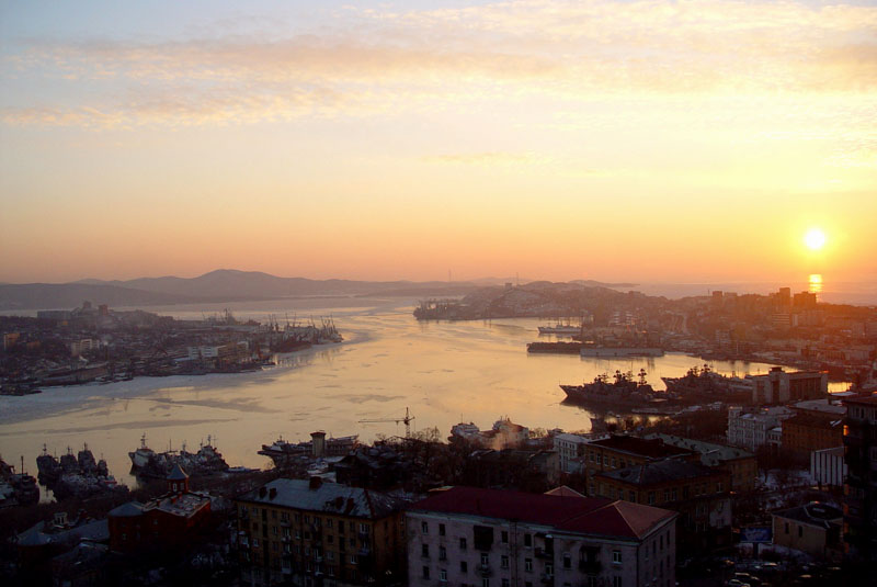 "фото ""SUNSET IN HARBOUR"" метки: ,"