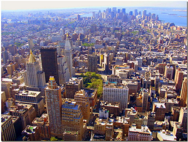 """photo """"Crazy city"""" tags: panoramic, travel, North America"""