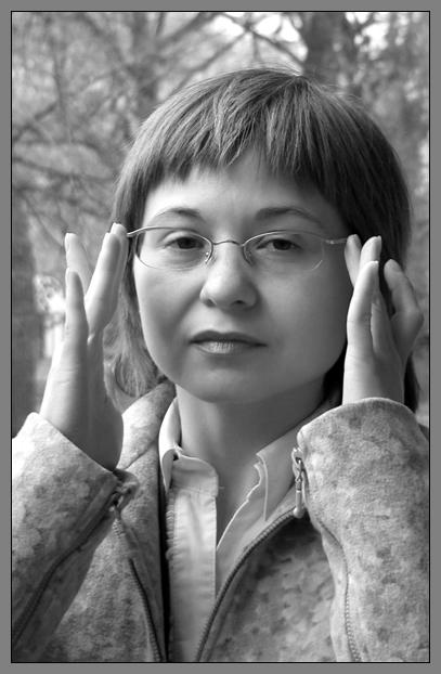 """фото """"в парке"""" метки: портрет, черно-белые, женщина"""