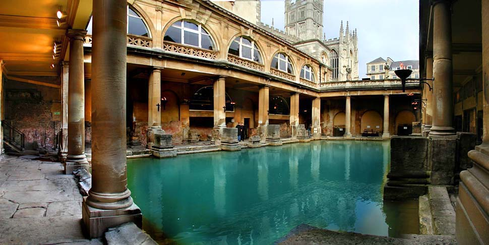 "photo ""Roman Bath"" tags: travel, panoramic,"