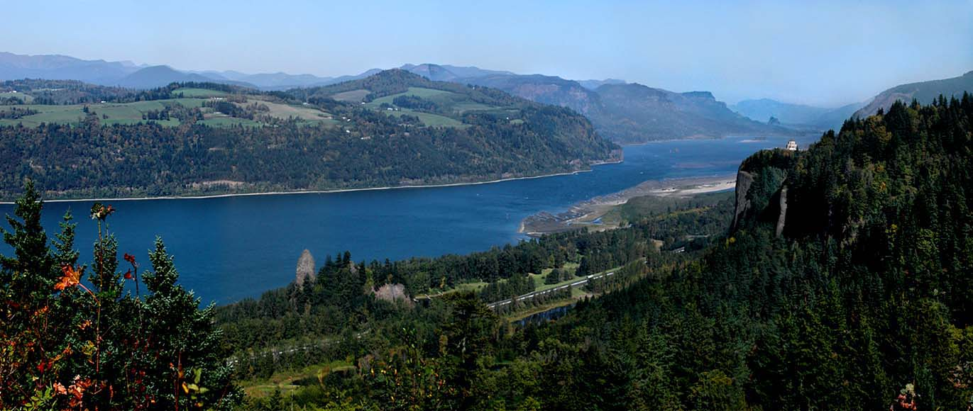 "photo ""Columbia River."" tags: travel, panoramic,"