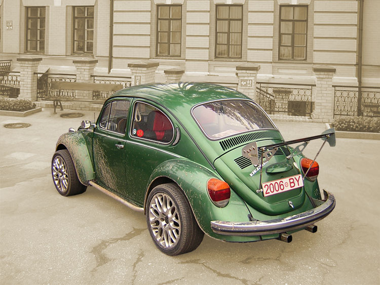"photo ""VW BUG"" tags: technics,"