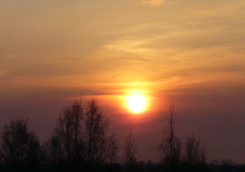 "photo ""Sunset"" tags: nature, landscape, sunset"