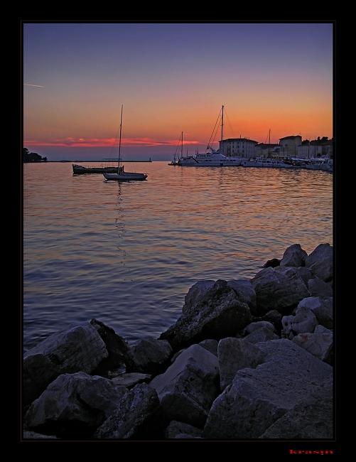 "фото ""Пореч"" метки: пейзаж, вода, закат"
