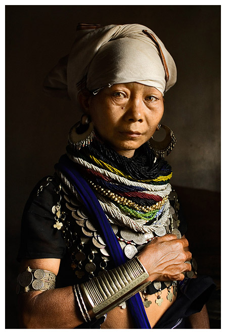 "photo ""Reang Tribal Woman"" tags: portrait, travel, Asia, woman"