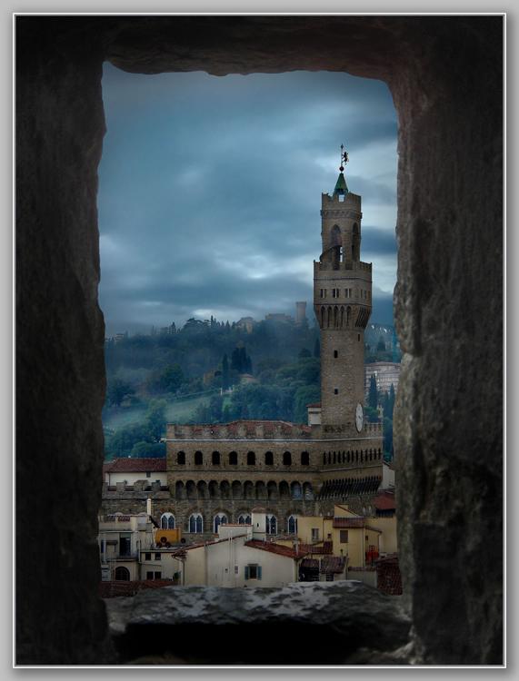 "фото ""Окно во Флоренцию"" метки: архитектура, путешествия, пейзаж, Европа"