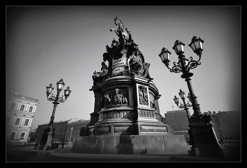"""photo """"Saint Petersburg"""" tags: architecture, landscape, spring"""