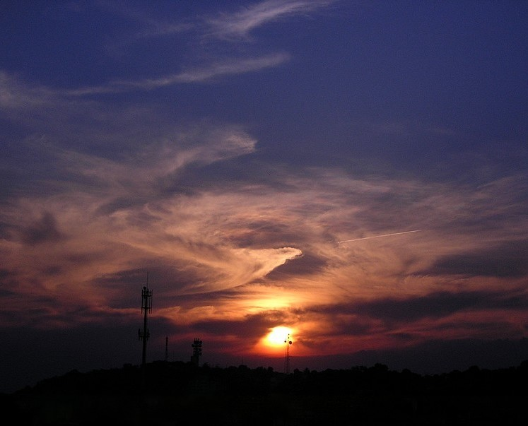 "photo ""Easter Sunset"" tags: landscape, sunset"