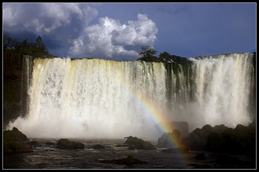 "photo ""Cataratas del Iguazú"" tags: landscape, travel, South America, water"
