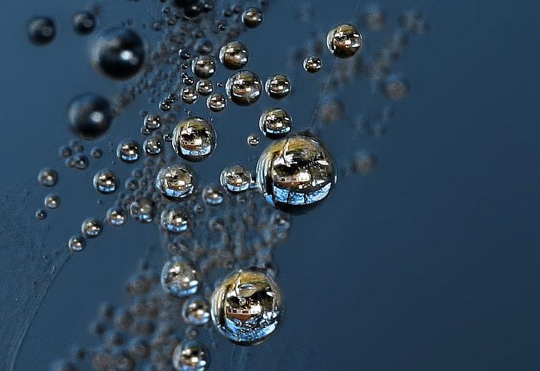 """photo """"Bubbles"""" tags: landscape, water"""