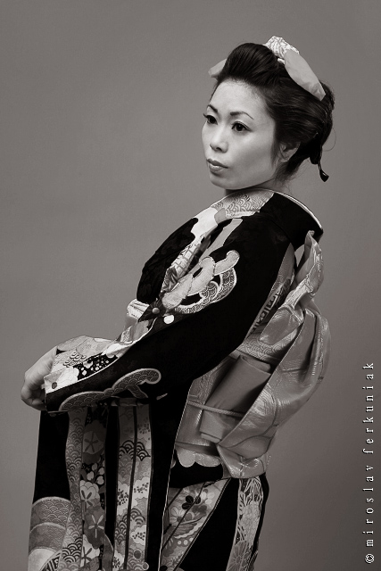 "photo ""Geisha"" tags: portrait, woman"