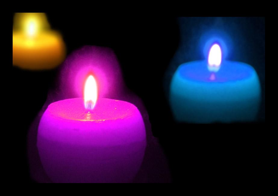 "photo ""Three candles #2"" tags: still life,"