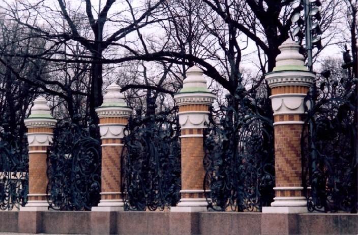 "фото ""решетка Михайловского сада"" метки: архитектура, пейзаж,"