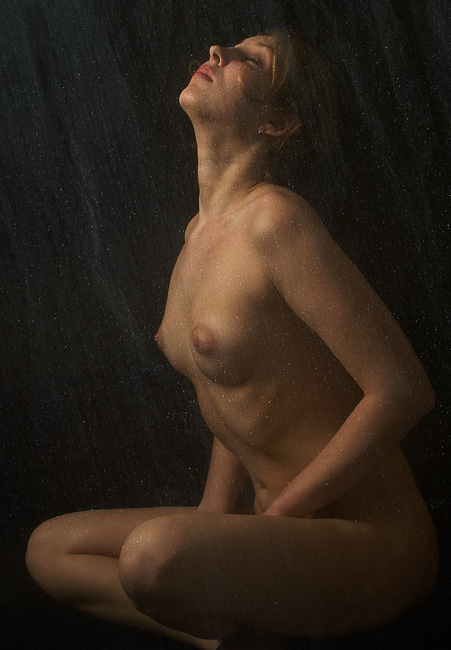 "photo ""In a silver rain."" tags: nude,"