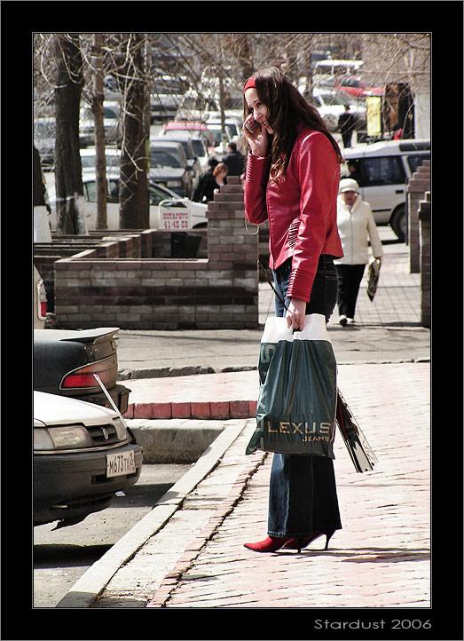 """photo """"Девушка по городу. Весна"""" tags: portrait, reporting, woman"""