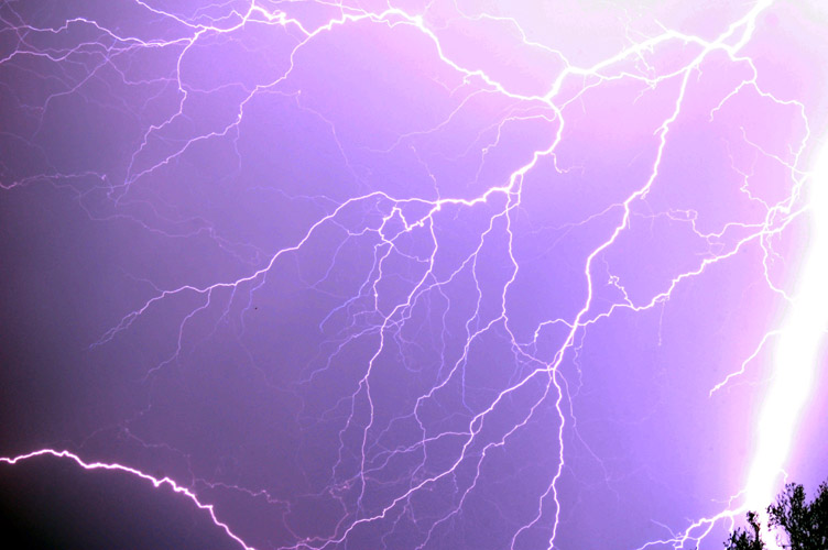"photo ""Lightning Storm"" tags: nature,"