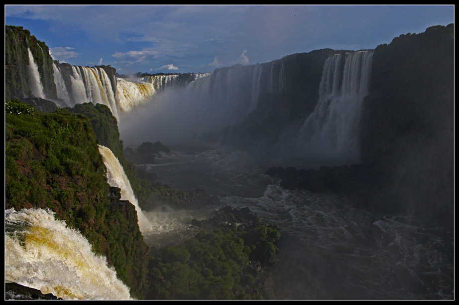 "photo ""Iguazú III"" tags: landscape, travel, South America, water"