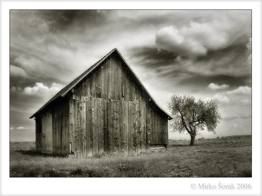"photo ""Old Barn"" tags: architecture, landscape,"