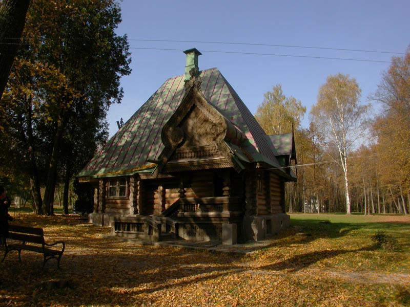 """photo """"Abramtsevo (1)."""" tags: architecture, landscape,"""