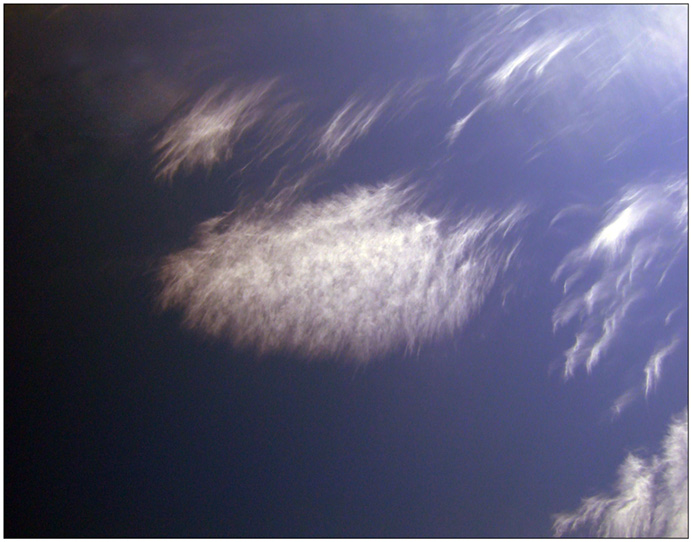"photo ""Clouds Feather"" tags: landscape, abstract, clouds"