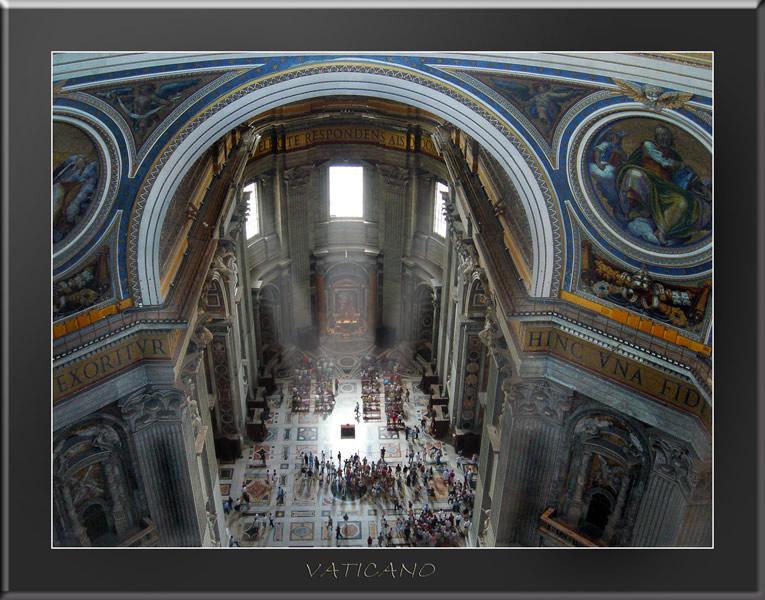 """фото """"Ватикан - собор Святого Петра"""" метки: путешествия, интерьер, Европа"""