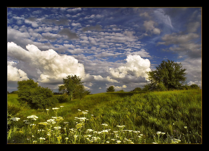 "photo ""Mixed sky"" tags: landscape, summer"