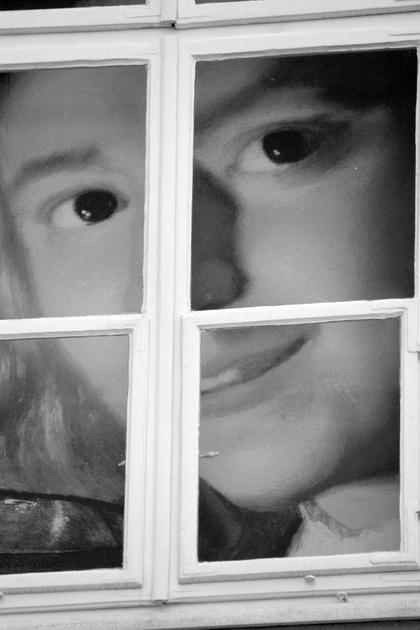 """photo """"Aspects"""" tags: black&white, portrait,"""