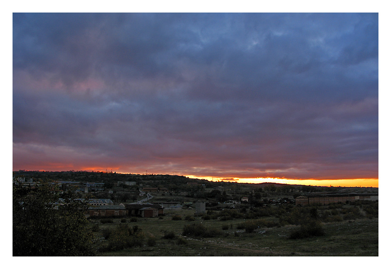 "photo ""*"" tags: landscape, sunset"