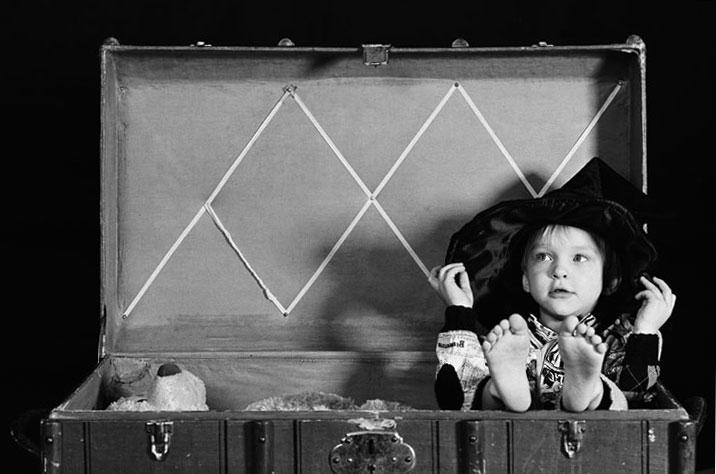 "photo ""The Gnome:)"" tags: portrait, children"