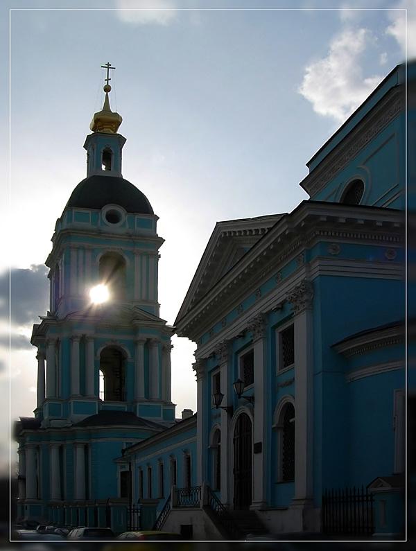 """photo """"Holy light"""" tags: architecture, genre, landscape,"""
