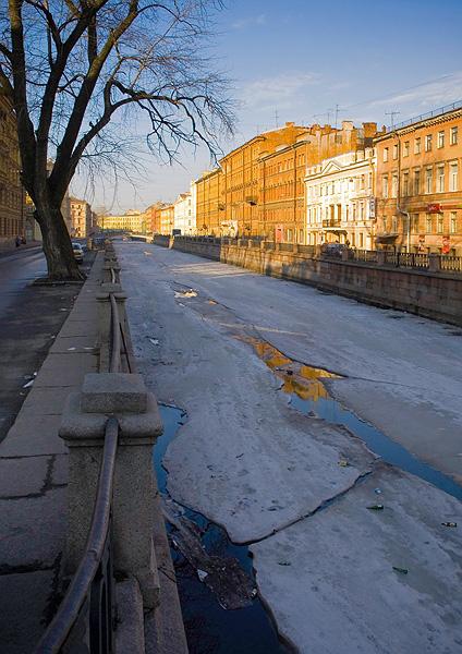 """фото """"апрель, утро, канал"""" метки: архитектура, пейзаж,"""