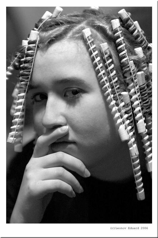 """фото """"Кудряшки"""" метки: портрет, женщина"""