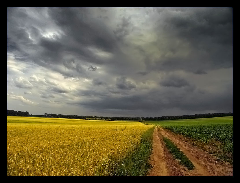 "photo ""Thunder road"" tags: landscape, summer"